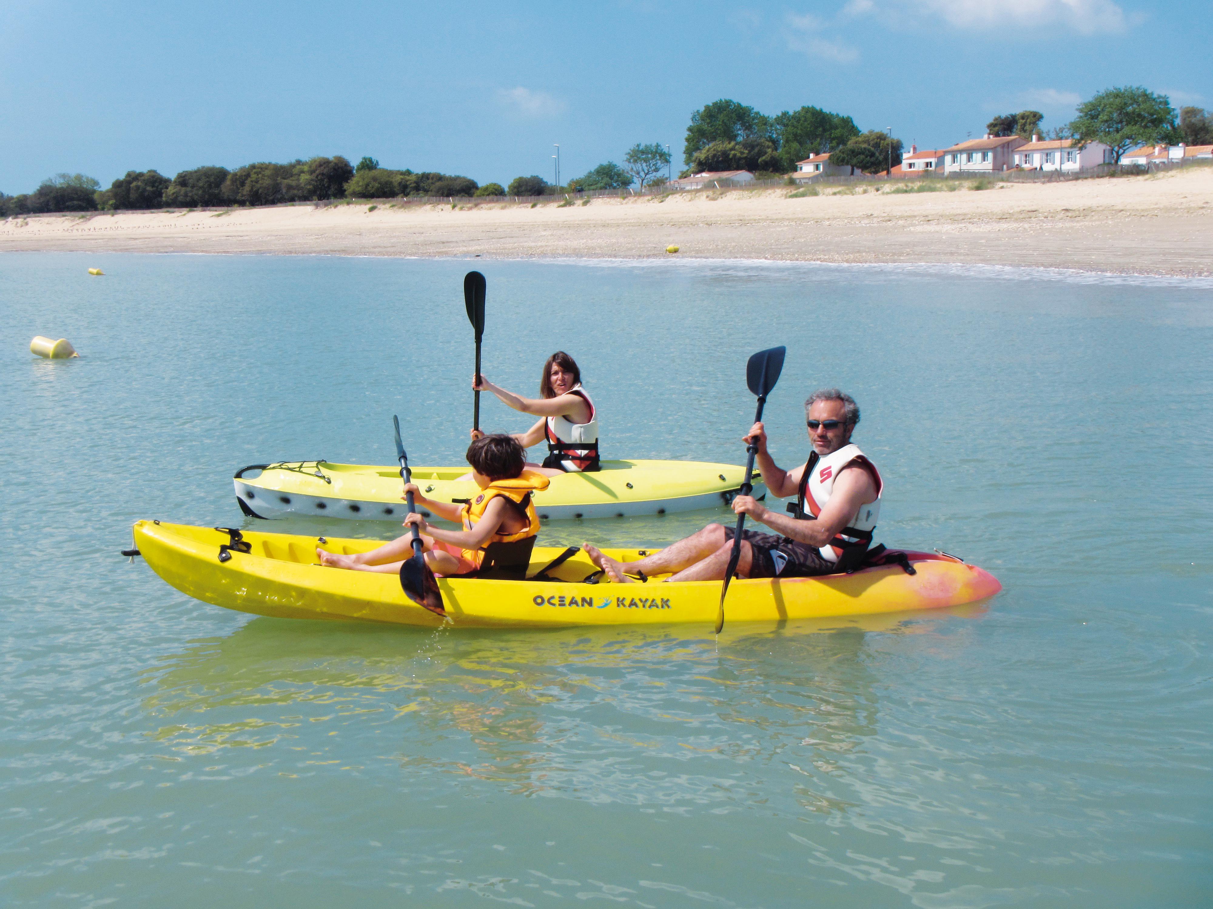 Kayak - Activités nautiques