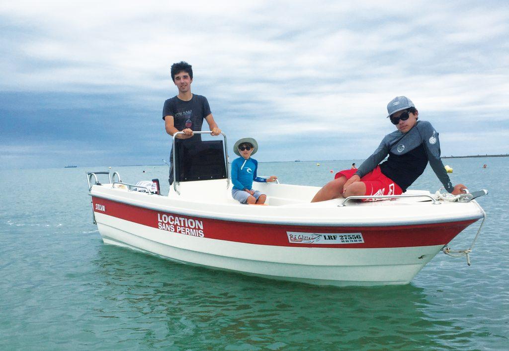 Barque - Activités nautiques