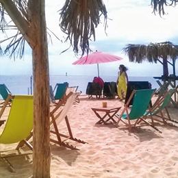 icone bar sur plage