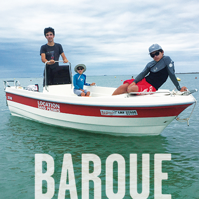 Barque - Ré glisse