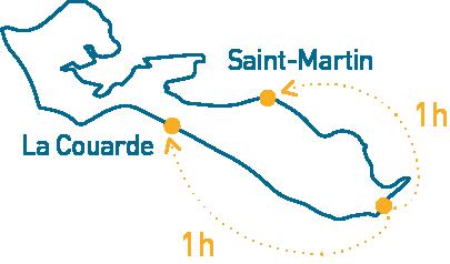 carte de l'ile de ré navigation jet ski