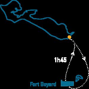 carte randonnée fort boyard